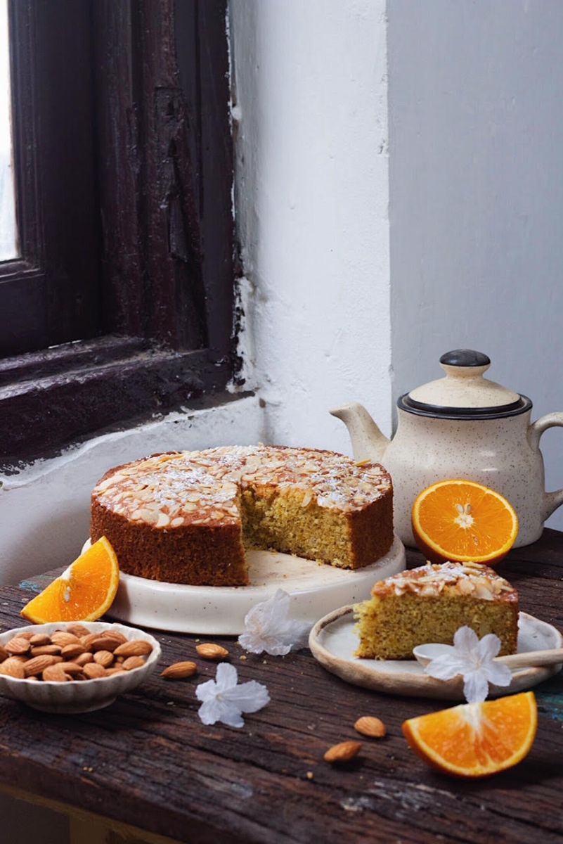 BEST EVER ORANGE ALMOND CAKE